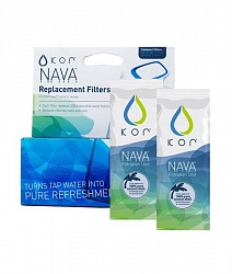"Фільтр вугільний для пляшок Coral Bottle Nava / Sport ""KOR Nava - Replacement Filters"